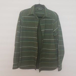 NWOT The North Face Green Button Up Men's Shirt